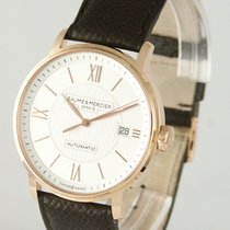 Baume & Mercier Rose gold 39mm Automatic MOA 10037 pre-owned