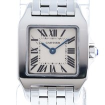 new product 4a2bd 676b7 Cartier Santos Demoiselle W25064Z5 Watch with Stainless ...
