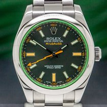 Rolex Milgauss Stal 40mm Arabskie