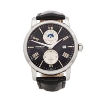 Montblanc Steel 42mm Automatic 114858 new
