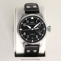 IWC Steel Automatic Black 46.2mm pre-owned Big Pilot