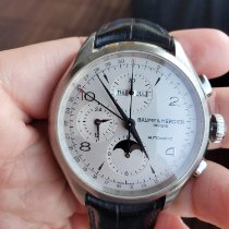 Baume & Mercier Steel 43mm Automatic MOA10278 pre-owned Australia, Bondi