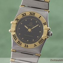 Omega Constellation Ladies Zlato/Zeljezo 22.5mm Crn
