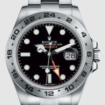 Rolex Explorer II Steel 42mm Black No numerals United States of America, New Jersey, Totowa