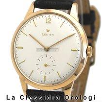 Zenith Oro rosa 37mm Manuale Stellina usato Italia, Milano
