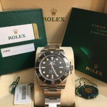 Rolex Submariner (No Date) новые 2019 Автоподзавод Часы с оригинальными документами и коробкой 114060