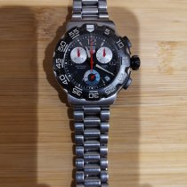 TAG Heuer Formula 1 Quartz tweedehands Zwart Chronograaf Staal