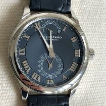 Chopard Platinum Manual winding Blue Roman numerals 43mm pre-owned L.U.C