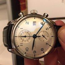 IWC Portuguese Chronograph Acier 42mm Argent Arabes France, ISSY LES MOULINEAUX