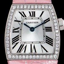 Cartier La Dona de Cartier Weißgold 22mm Silber Römisch
