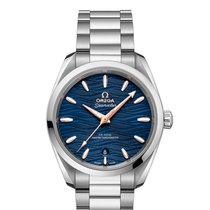 Omega Seamaster Aqua Terra Steel 38mm Blue No numerals United States of America, New York, New York