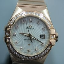 Omega Constellation Ladies Or rose Nacre