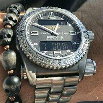 Breitling Emergency Titane 43mm Noir Arabes