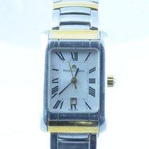 Maurice Lacroix Calypso Damen Uhr Stahl/stahl 25mm Carree Rar 2