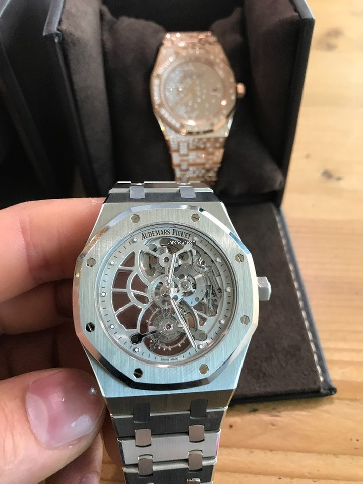 60bf81d73f0 Audemars Piguet Royal Oak Tourbillon extra thin for  194