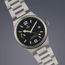 Tudor Pre-Owned  North Flag stainless steel automatic watch...