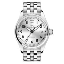 IWC Pilot's Watch Automatic 36 Stål 36mm Sølv Arabertal