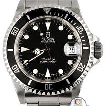 Tudor 1995 Vintage  Submariner Matte Black 79190 Prince Date...