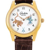 Glashütte Original , Limited Edition Yellow Gold Wristwatch...