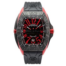 Franck Muller 57mm Automatic new Conquistador GPG Black