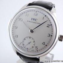 IWC Portuguese Minute Repeater Platinum 44mm Silver