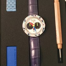 Alain Silberstein new Automatic Steel Sapphire Glass