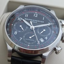 Baume & Mercier Capeland Chronograph Automatic Steel MOA10084 NEW