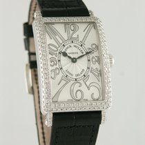 Franck Muller 26mm Quartz 2015 pre-owned Long Island Silver