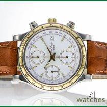 Paul Picot Chronograph Automatik 2000 gebraucht Weiß