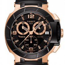 Tissot Chronograph 50.26mm Quartz new T-Race Black