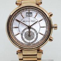 Michael Kors Chronograaf 38mm Quartz nieuw Parelmoer