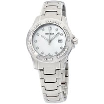 Wenger 32mm Quartz new Mother of pearl