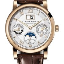 A. Lange & Söhne Langematik Perpetual Yellow gold Silver United States of America, Florida, North Miami Beach