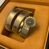 Bulgari Bulgari pre-owned 19mm Black Steel