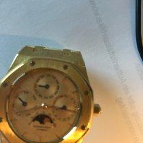 Audemars Piguet Royal Oak Perpetual Calendar Gelbgold 38mm Gold Keine Ziffern