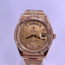 Rolex Day-Date II Yellow gold 41mm Champagne No numerals United States of America, California, Beverly Hills