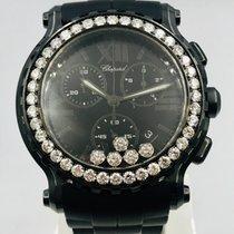 Chopard Happy Sport Steel Black Roman numerals