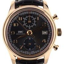 IWC Portuguese Chronograph Pозовое золото 42mm Cерый