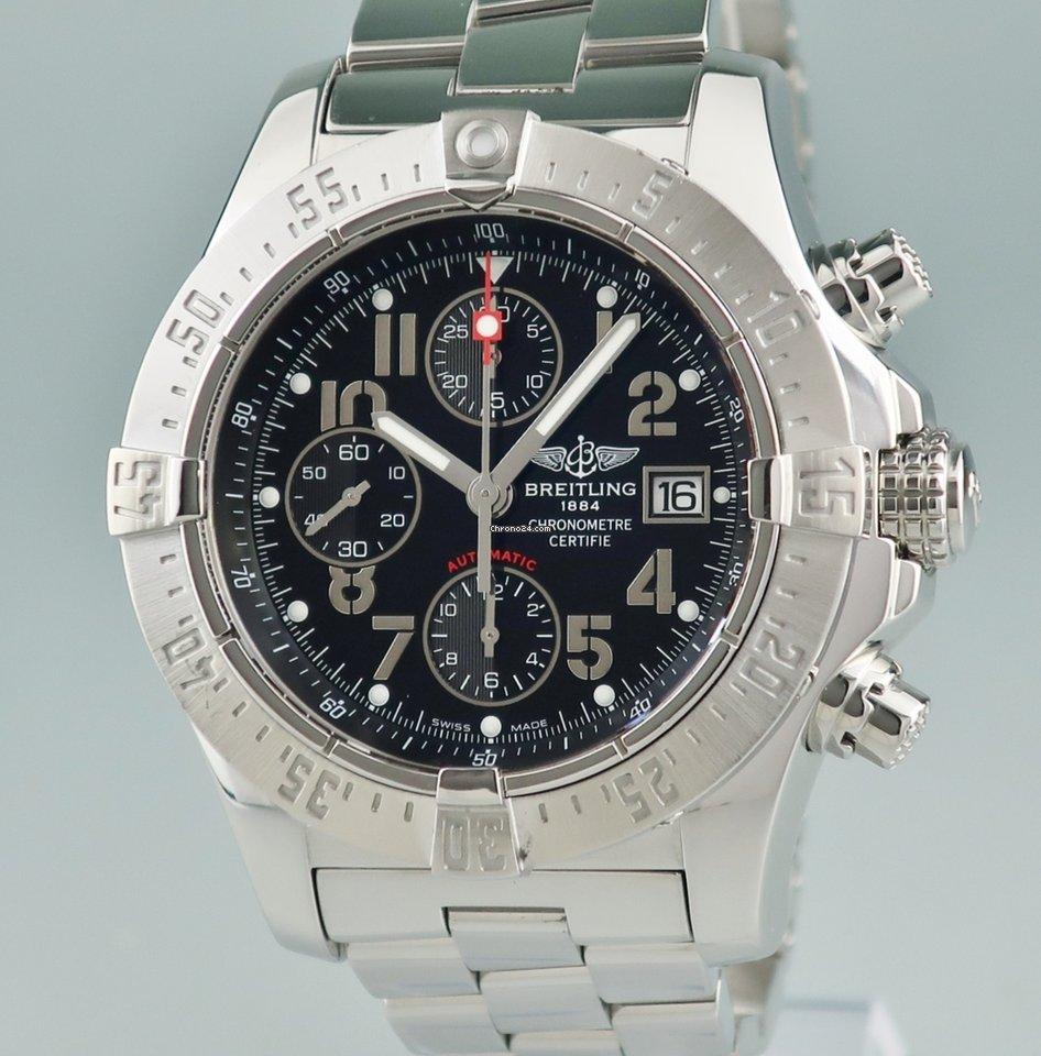 best sneakers 8abd4 8a73c Breitling ブライトリング BREITLING/アベンジャー スカイランド クロノ A13380 自動巻 メンズ 腕時計 ウォッチ