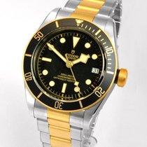 Tudor Black Bay S&G Ouro/Aço 41mm Preto