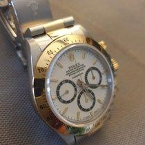 Rolex Daytona Oro/Acciaio Bianco Senza numeri Italia, Roma