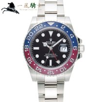 Rolex GMT-Master II White gold 40mm Black