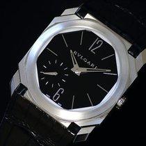 Bulgari Platinum Manual winding pre-owned Octo