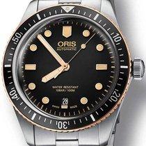 Oris Divers Sixty Five Steel 42mm Black