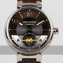 Louis Vuitton Oro blanco 44mm Automático Q10613 usados