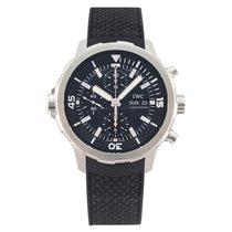 IWC Aquatimer Chronograph Acero 44mm Negro