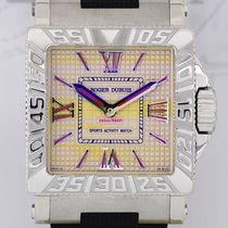 Roger Dubuis AcquaMare Golden Dial Automatic Watch Steel...