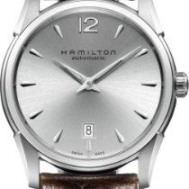 Hamilton Jazzmaster Slim nuevo Reloj con estuche y documentos originales H38515555
