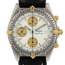 Breitling Chronomat en acier et plaqué or Ref : 81950 Vers 1990
