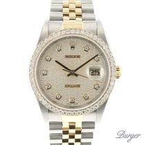 Rolex Datejust Gold/Steel Jubilee Diamond Dial & Bezel